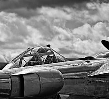 P-38 Lighting bw by Delfino