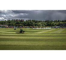 Durham CCC Cricket Pitch  Photographic Print