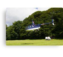 Robinson R44 II Raven Canvas Print