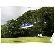 Robinson R44 II Raven Poster