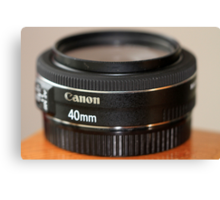 Canon EF 40mm f/2.8 STM Canvas Print