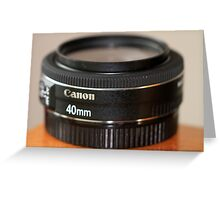 Canon EF 40mm f/2.8 STM Greeting Card