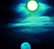 Moons with Clouds by Marsha Ambrose