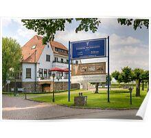 Hotel Four Seasons, Meerbusch, NRW, Germany. Poster