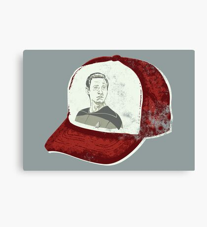 Data Cap Canvas Print