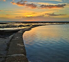 Sunset at Minnis Bay by Geoff Carpenter