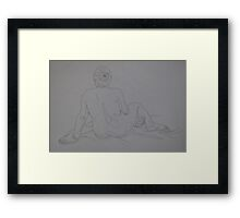 Tone mapping 1 Framed Print