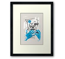 BRIGHT SIDE Framed Print
