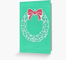Christmas Wreath - Green Greeting Card