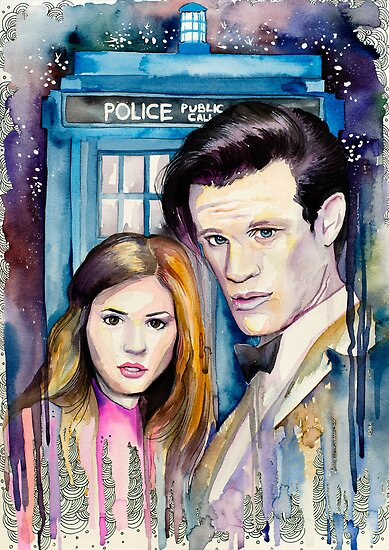 Doctor Who by Slaveika Aladjova
