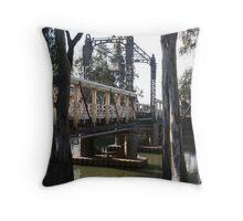 Barham Bridge (June) Throw Pillow