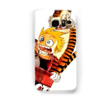 Runaway Calvin Hobbes Samsung Galaxy Case/Skin
