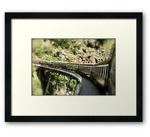 She'll be comin' round the mountain... Framed Print