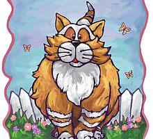 Animal Parade Ginger Cat by Traci VanWagoner