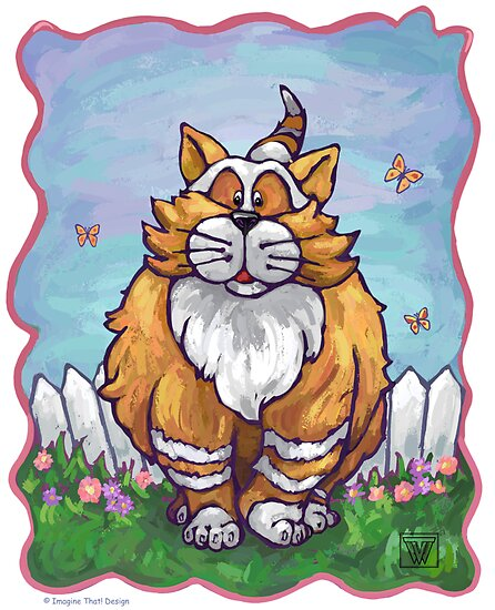 Animal Parade Ginger Cat by Traci VanWagoner