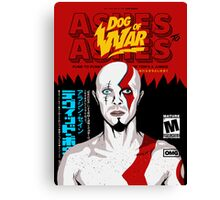 Dog of War (Ashes to Ashes) Canvas Print