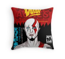 Dog of War (Ashes to Ashes) Throw Pillow