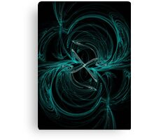 Colliding Arrows Canvas Print