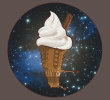 Dalek Ice-Cream a Treat in Space and Time One Piece - Short Sleeve