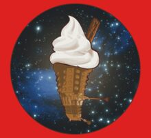 Dalek Ice-Cream a Treat in Space and Time Kids Tee