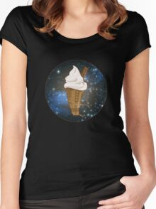 Dalek Ice-Cream a Treat in Space and Time Women's Fitted Scoop T-Shirt