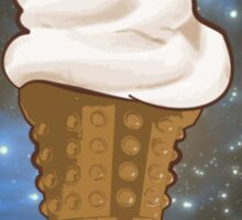 Dalek Ice-Cream a Treat in Space and Time Sticker