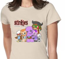 Stinkies Group Pic Womens Fitted T-Shirt