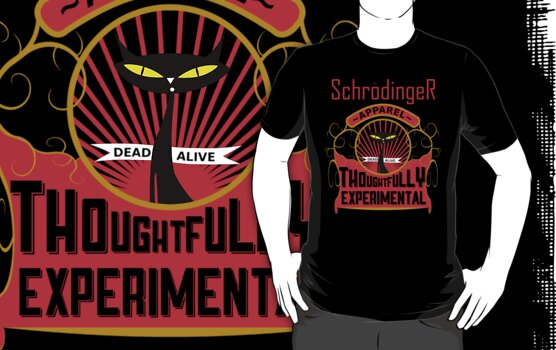 Schrodinger's Cat Apparel by amanoxford