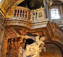 Interior, Chiesa San Luigi dei Francesi, Rome, Italy by buttonpresser