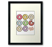 Donut Framed Print