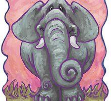 Animal Parade Elephant by ImagineThatNYC