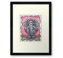 Animal Parade Elephant Framed Print