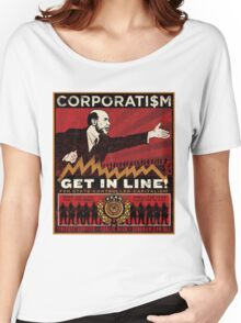 Corporatism Women's Relaxed Fit T-Shirt