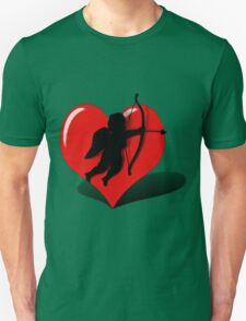 Cupid in a Balancing Heart  T-Shirt