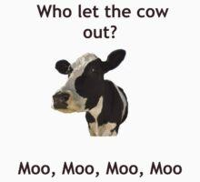 Funny Cow Song Joke by MarinaArts