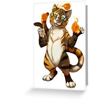 B is for Bakeneko! Greeting Card