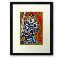 NEGEN SAMURAI Framed Print