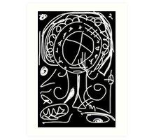 Rune-tree of Life Art Print