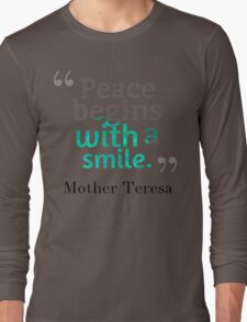 teresa Long Sleeve T-Shirt