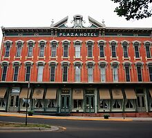 Las Vegas, New Mexico - Plaza Hotel by Frank Romeo