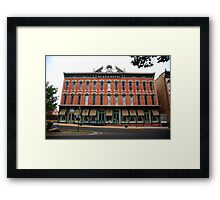 Las Vegas, New Mexico - Plaza Hotel Framed Print