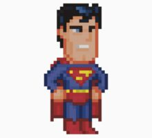 Superman Classic by Pixelfigures