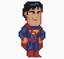 Superman New 52 by Pixelfigures