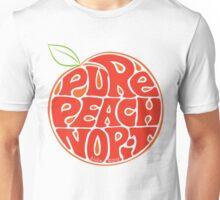 Pure Peach Fruit Artwork Large Unisex T-Shirt