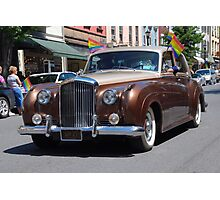Prideful Bentley Photographic Print