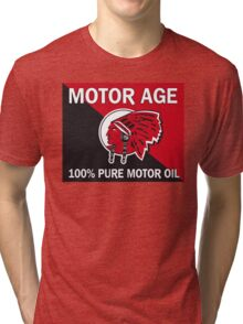 Motor Age Red Indian Tri-blend T-Shirt