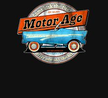Motor Age Kick The Tires Unisex T-Shirt