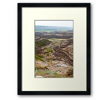 Horse Thief Canyon Framed Print