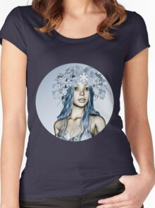 Winter Girl Women's Fitted Scoop T-Shirt