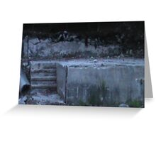 Cement Pond Greeting Card